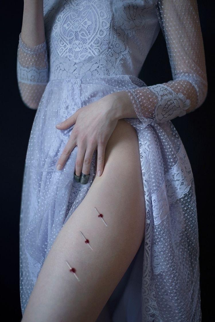 """Dressmaker"" – Photographer: In - darkbeautymag | ello"
