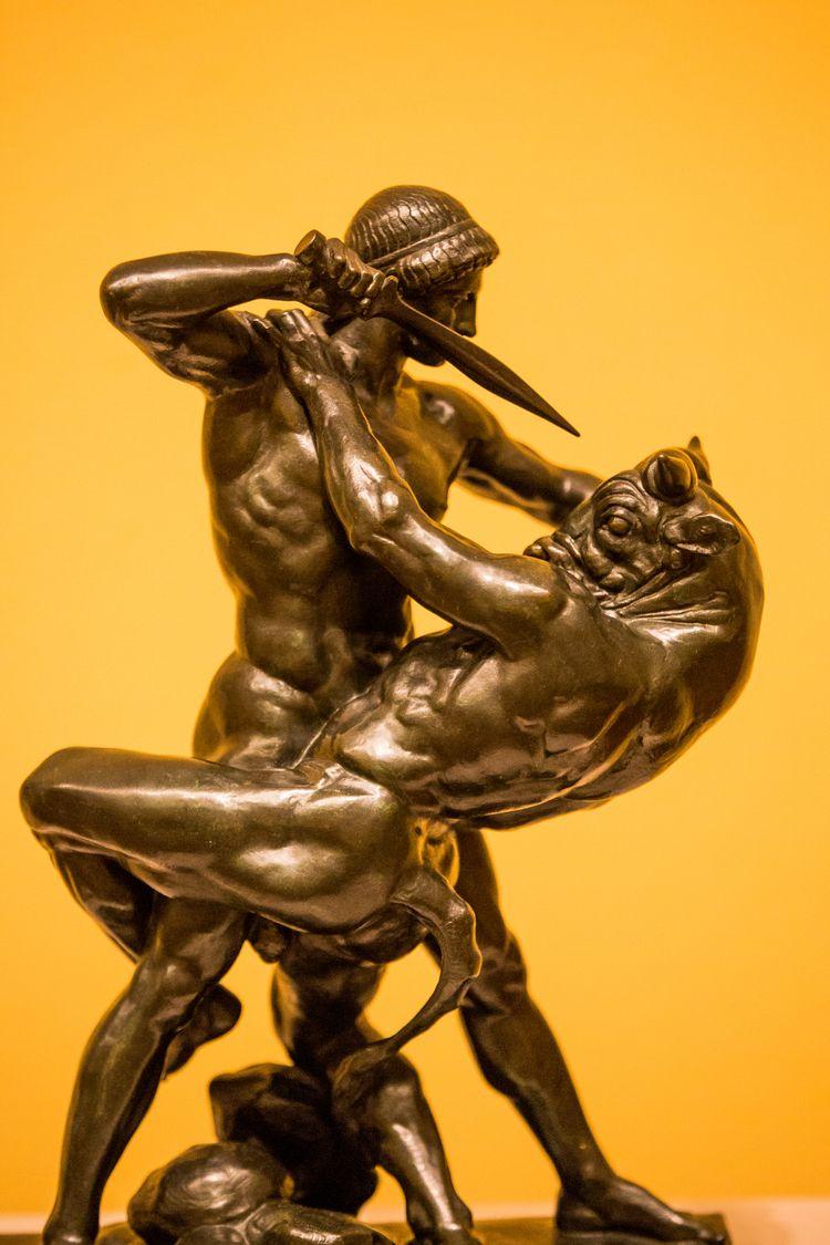 Theseus Slaying Minotaur - thomashawk | ello