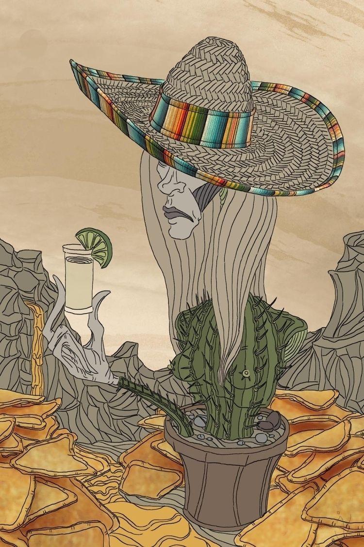 TeQuila - Mystical Cactus-Woman - ristoky   ello