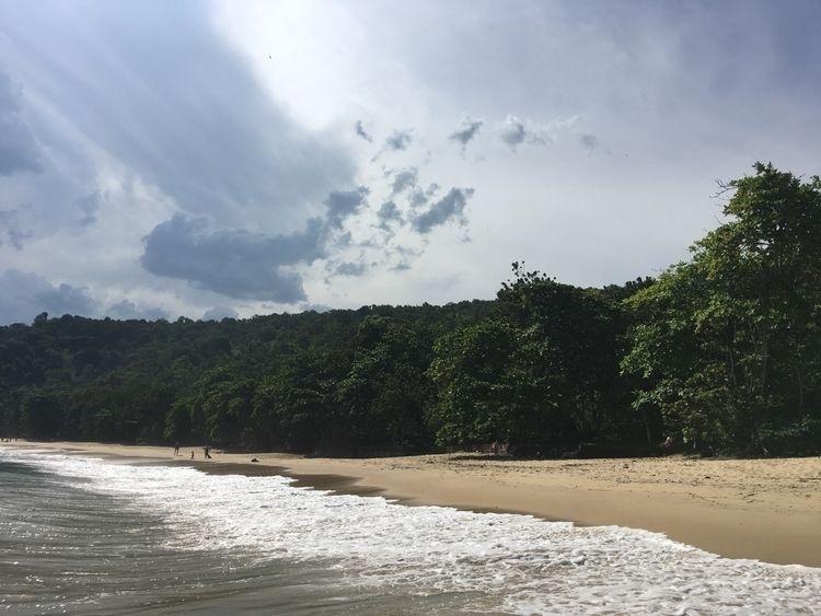 sky, clouds, sea, beach, light - sergiobarbosa | ello