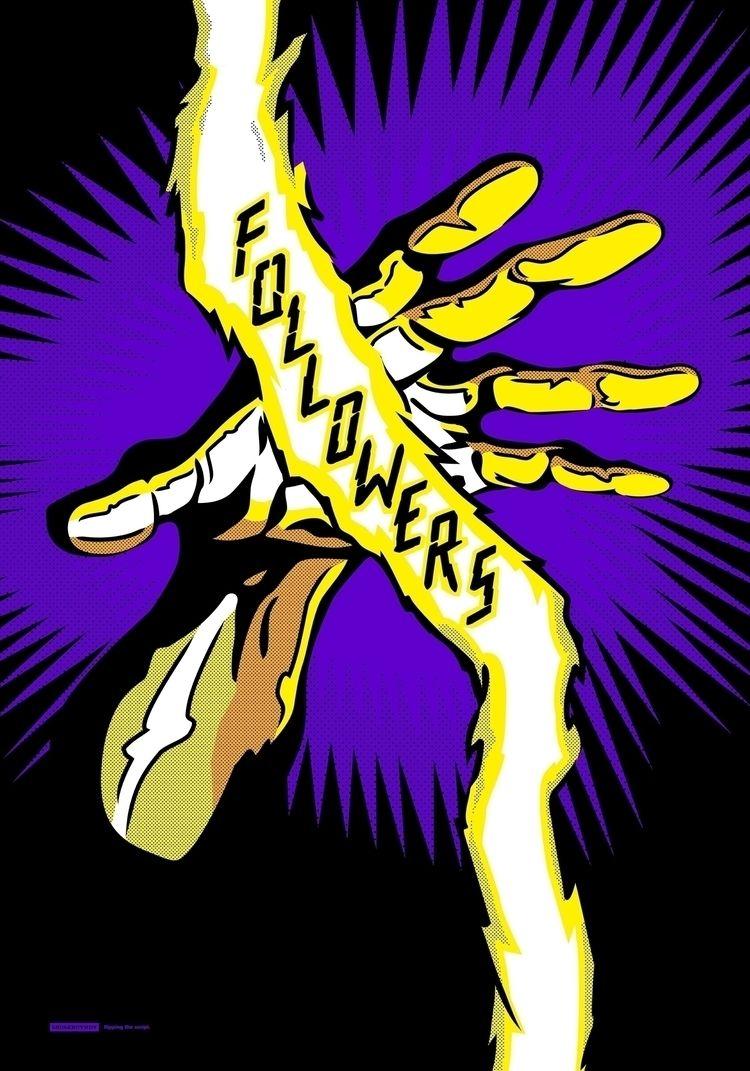 """Comic Hands"" series inspired l - properganda   ello"