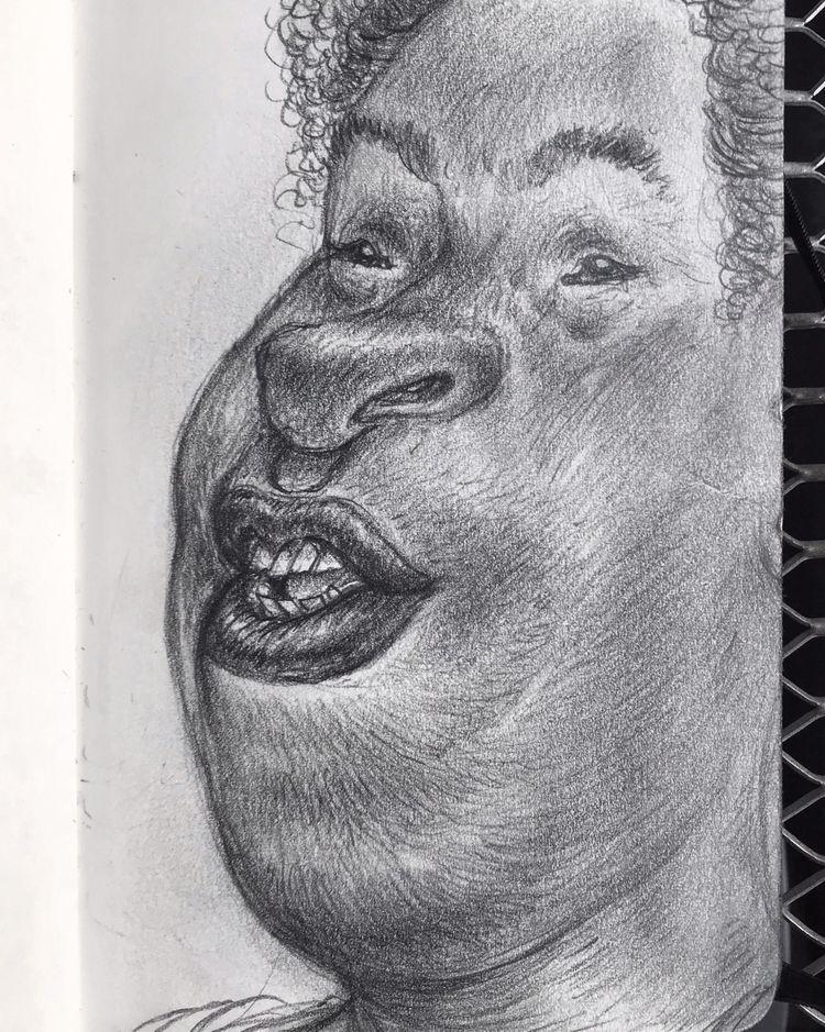 Stay warm - drawing, sketch - leestroyer | ello