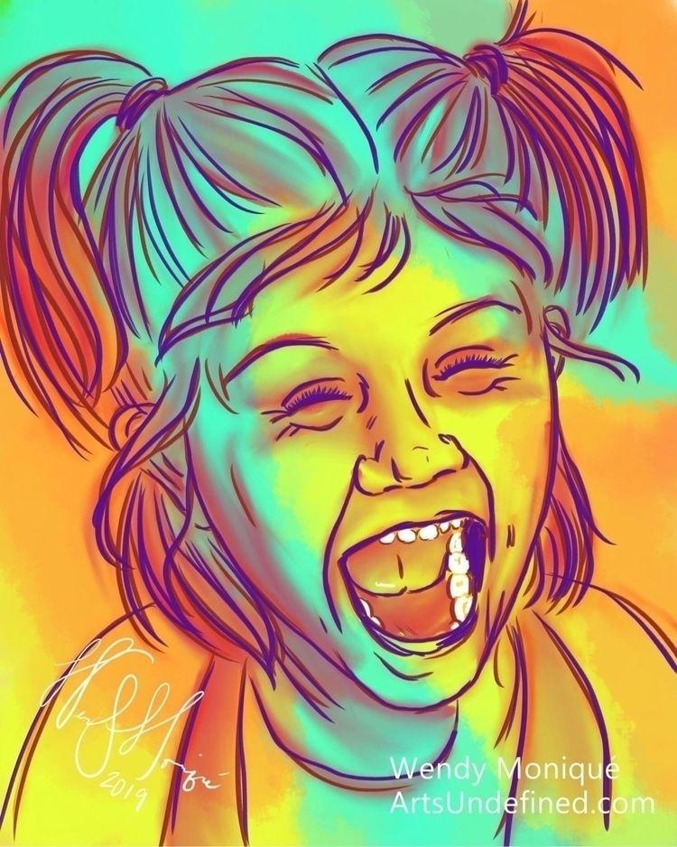 Doodles! Vibrant Laughter Serie - artsundefined | ello