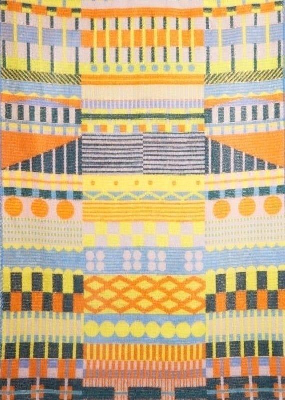 'Gunta' woollen blanket finds i - bauhaus-movement | ello