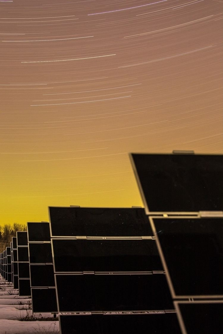 Star trails, Arnprior, Ontario - cleanenergyphoto | ello