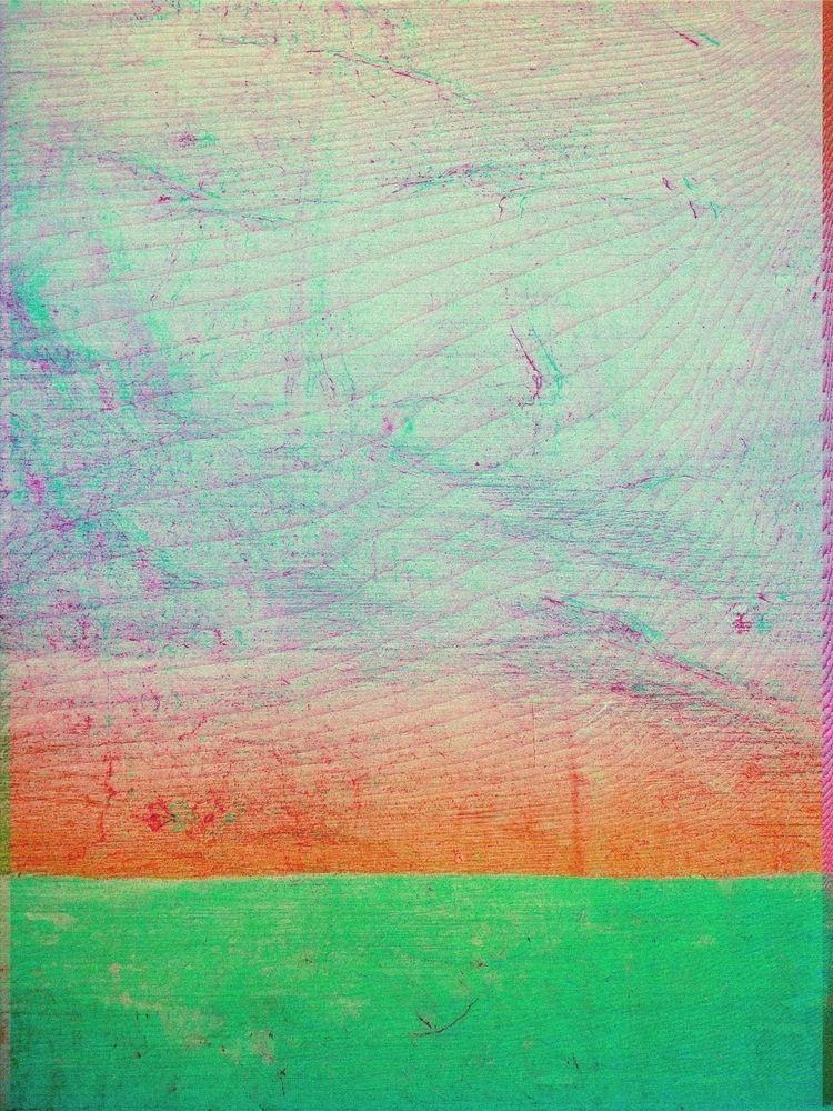 Number Fifteen (Orange Green),  - jrdsctt | ello