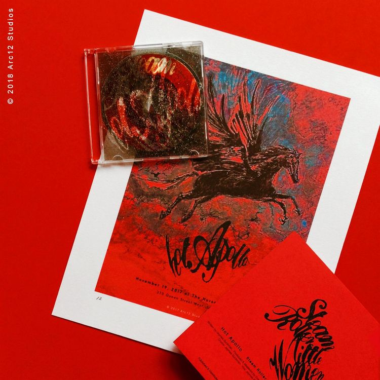 Hot Apollo Mini CD Single Steam - arc12studios | ello