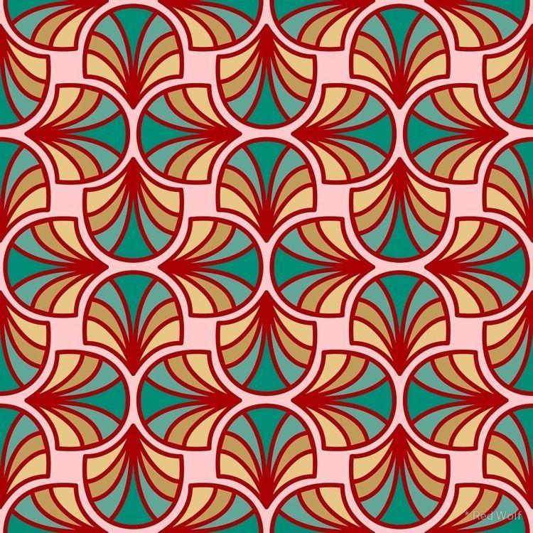 Geometric Pattern: Art Deco: Cu - red_wolf | ello