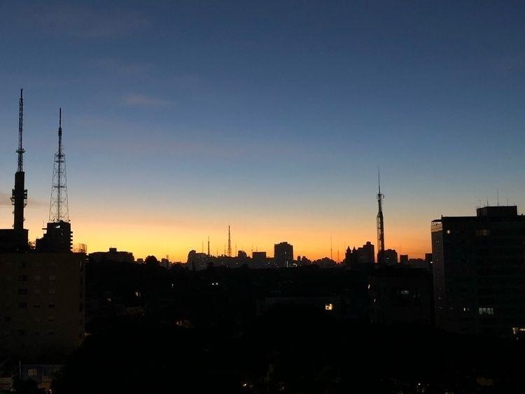 "São Paulo sua ""skyline"" :heart - albertojrclicando   ello"