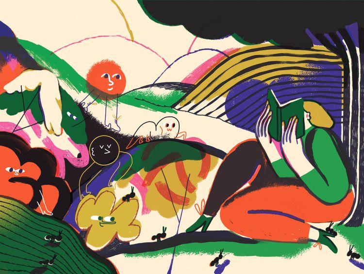 Illustration cover FLR, literar - franzlang | ello