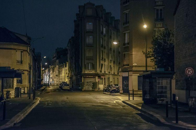Une Ville la Nuit  - France, Paris - jean-fabien | ello