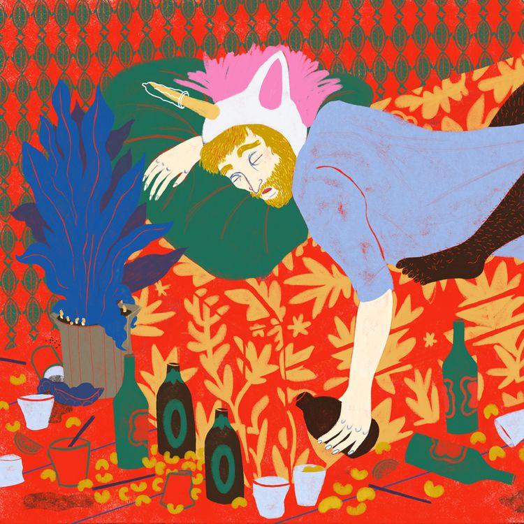 Party  - digitalillustration, illustration - spoto | ello