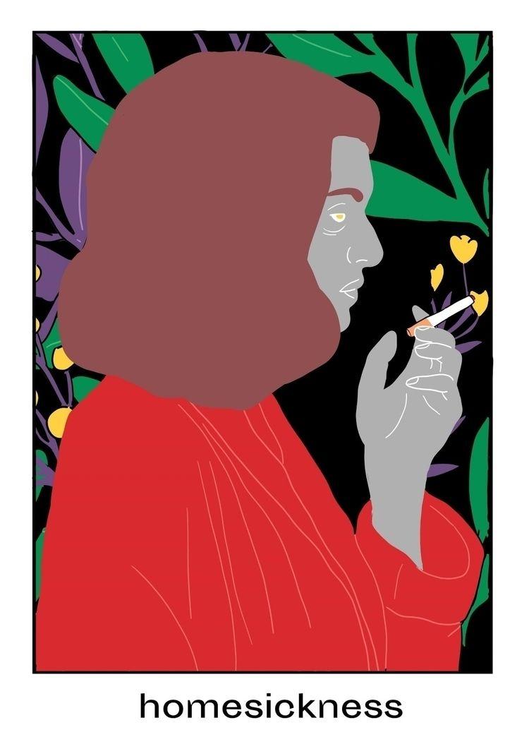 homesickness, sick, flowers, vegetal - tchangtchang | ello