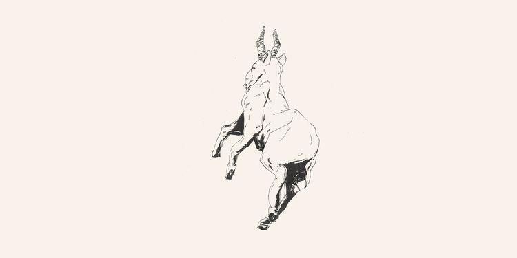 Saiga Antelope // Chinese Medic - danielido | ello