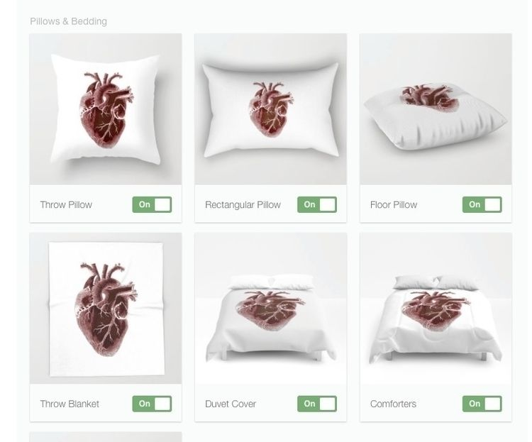 pillow ! day Heart Added colors - eajphoto | ello