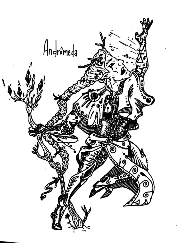 Soltas - Andrômeda; uma das per - pontilhismus | ello