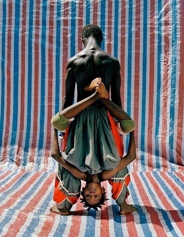 Acrobats Namsa Leuba Photograph - blackartmatters | ello