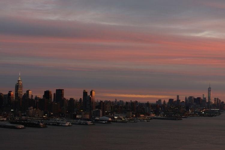 blush - cityscape, nyc, skyline - graceauden | ello