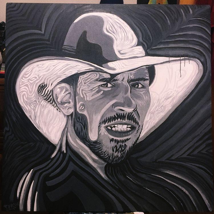 ground stand - painting, acrylic - tykoe | ello