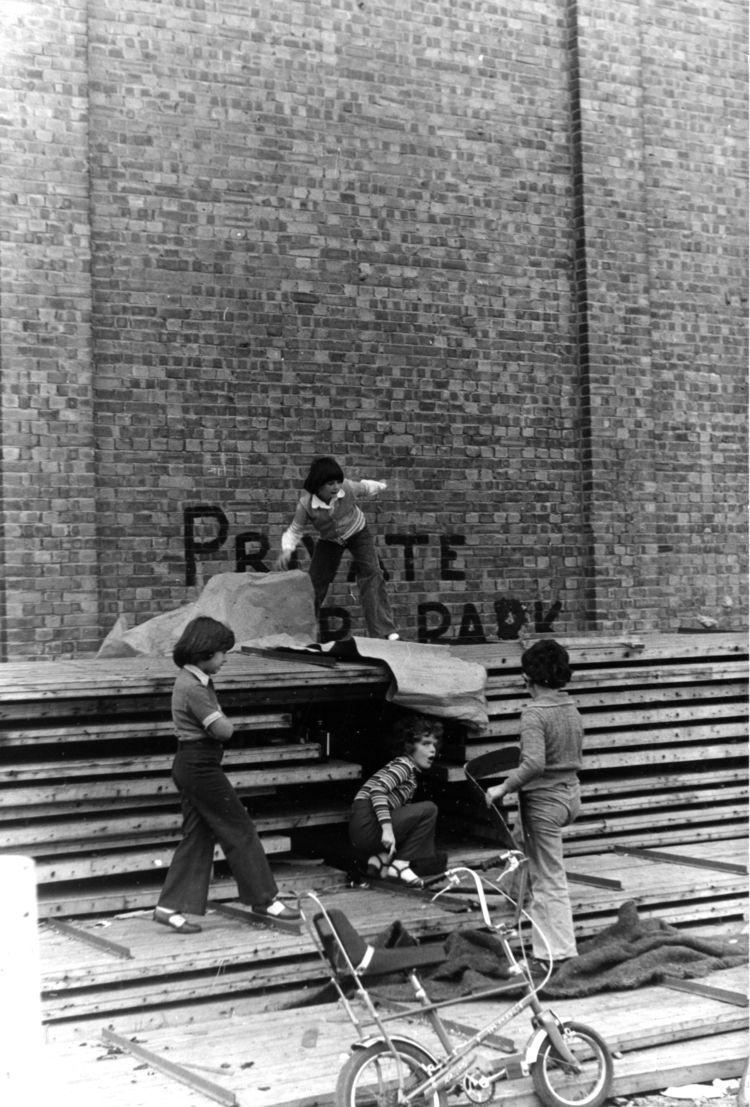 archive… Children playing demol - phil_levene | ello