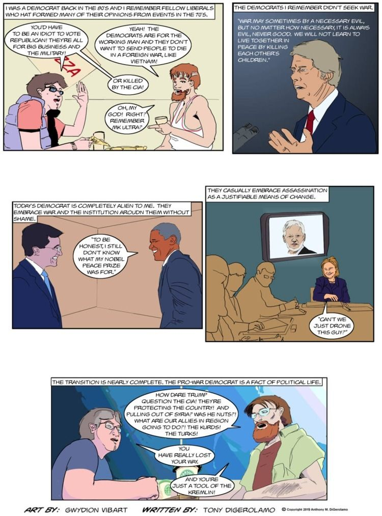 Antiwar Comic: Transformation - webcomic - tonydigerolamo | ello