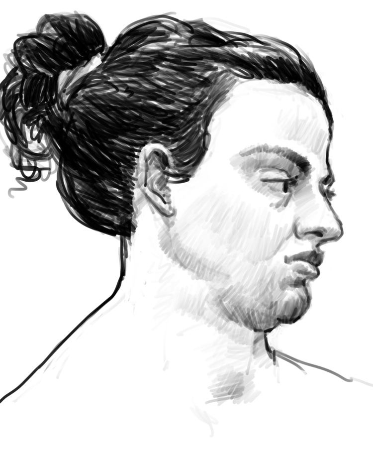 Model drawing session view blog - nevinberger | ello