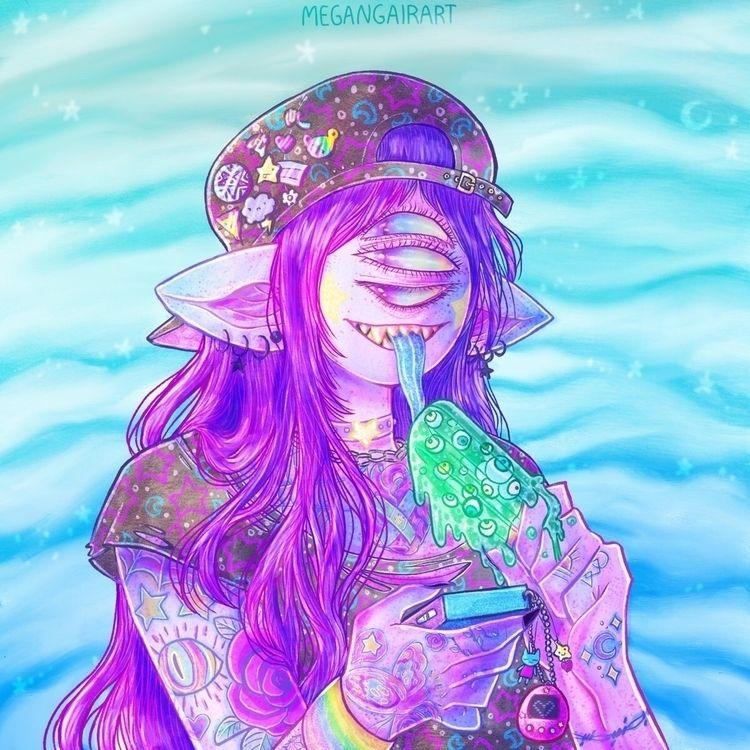 fave ghoul babies:purple_heart - megangairart | ello