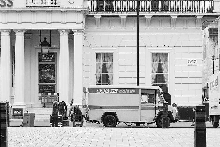 Vintage BBC mobile unit. London - toni_ertl | ello