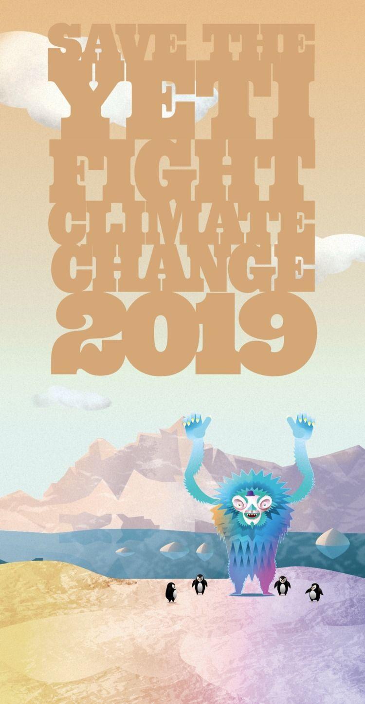 finished Yeti Poster - umanoid | ello