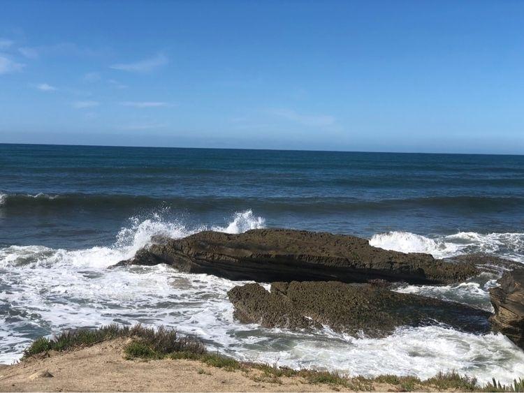Diego - San, beach, water, rocks - sxare | ello