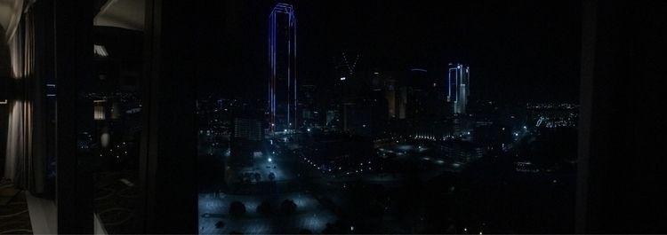 night, skyline, dallas, glass - cararae | ello