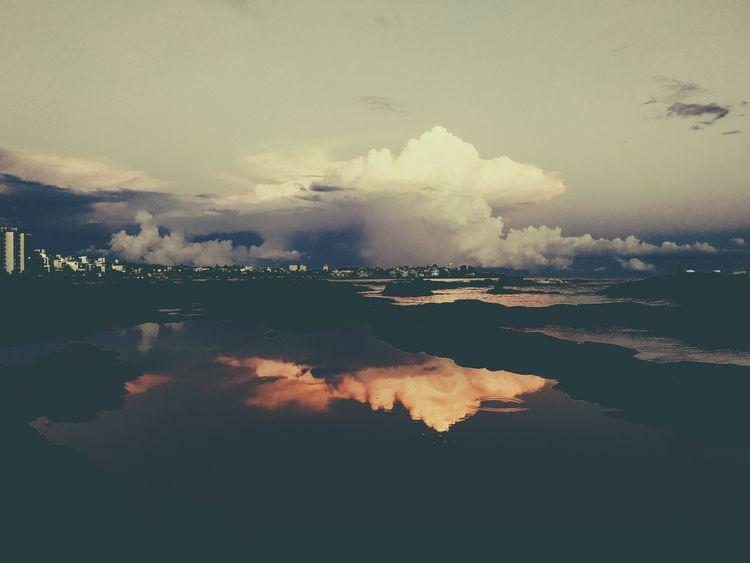 Celestial reflections - polaroid - fedodes | ello