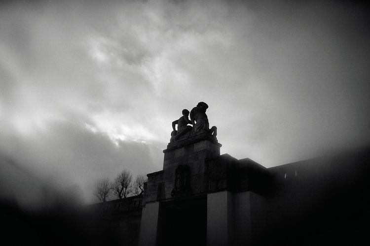 berlin, blackandwhite, fog, winter - jensrun | ello