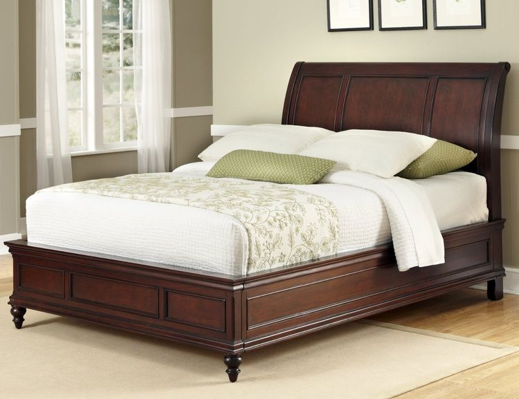 Mahogany Bed Frame size match p - islandfurnitureuk | ello