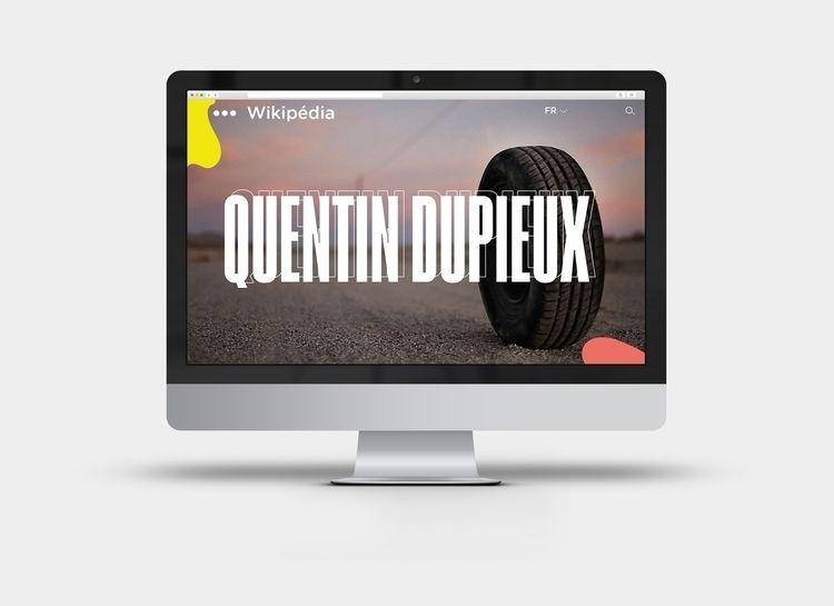 Redesign Wikipédia | Quentin Du - chihipso | ello