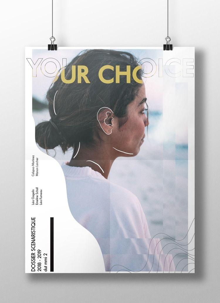 CHOICE | poster -Illustrator /  - chihipso | ello