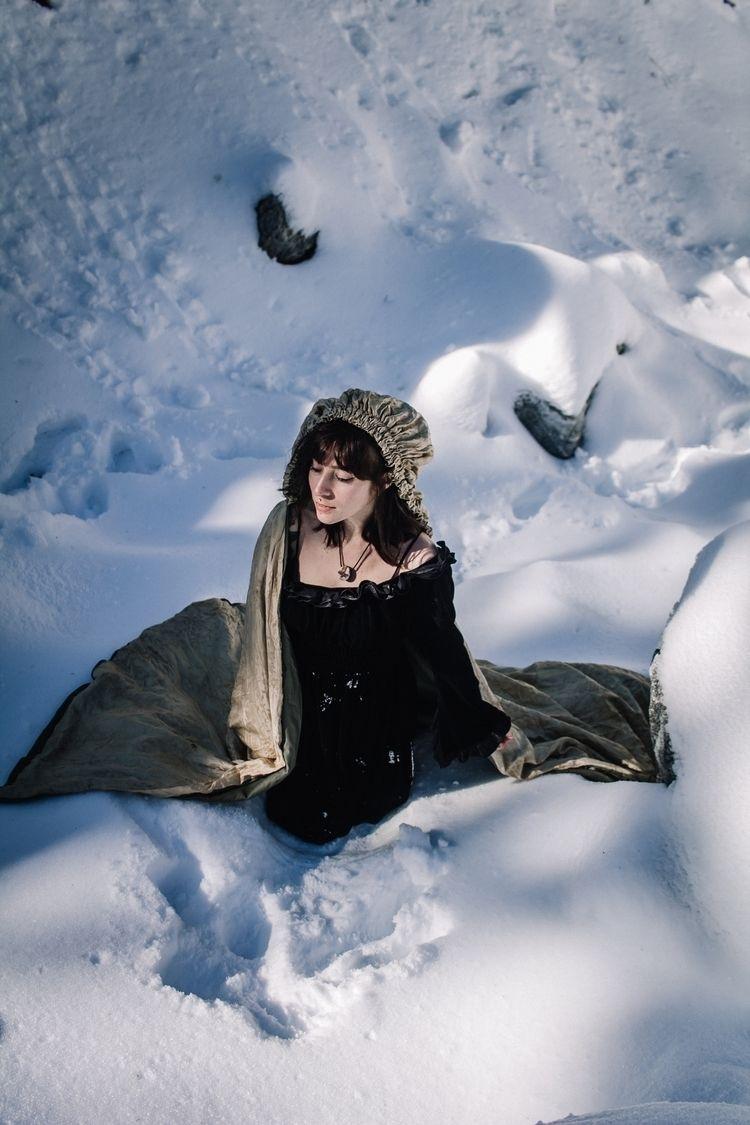 Wanderer - snow, frozen, winter - thepieholephotography   ello
