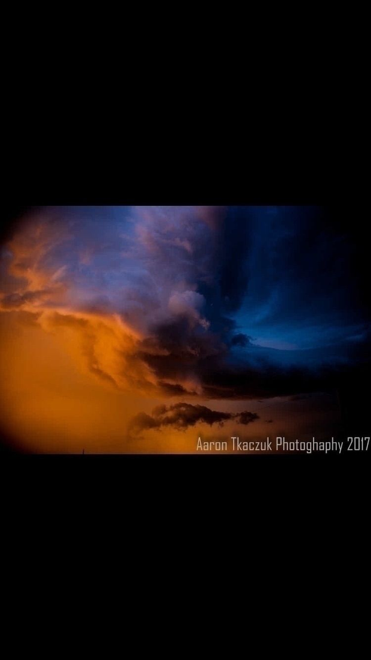 tornado warned storm, spinning - aarontkaczuk | ello