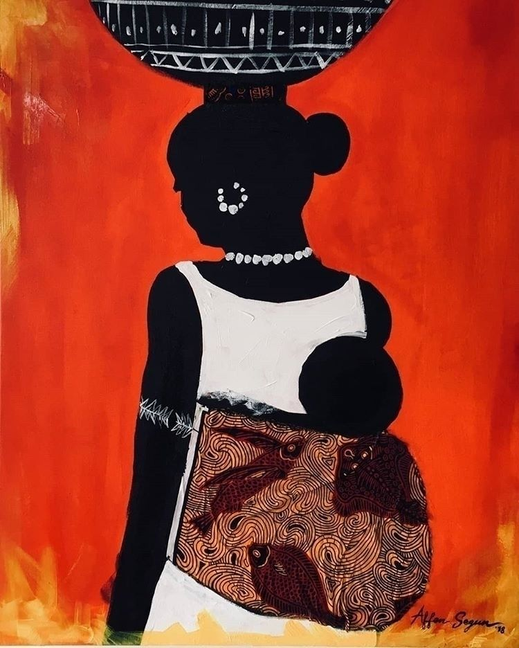 Work Nigerian contemporary arti - blackartmatters | ello