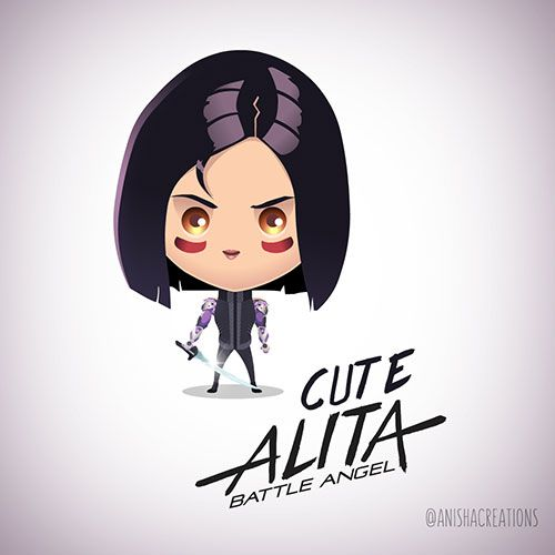 Oooh! excited Alita Battle Ange - anishacreations | ello