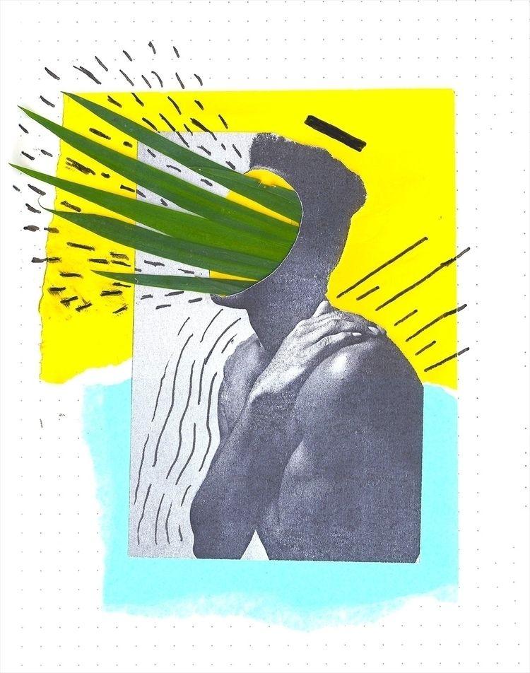 kixed - handmade, collage., paper - juareztanure   ello