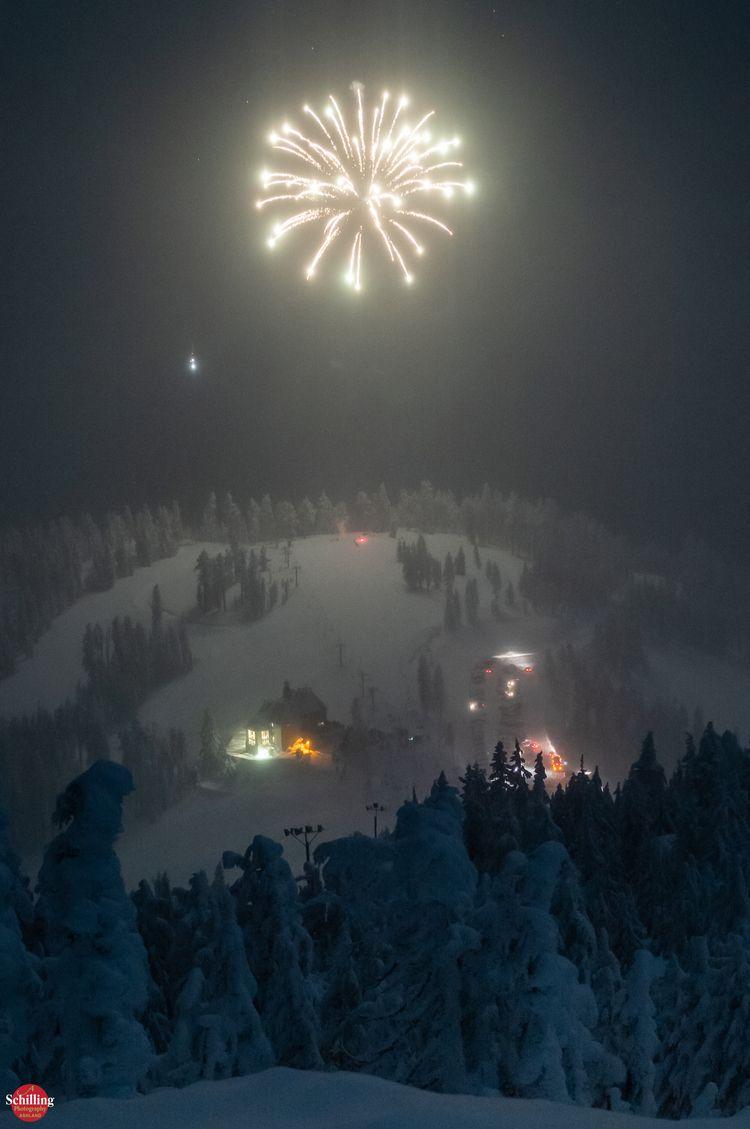 Fireworks Snow; Bavarian Night  - augustschilling | ello