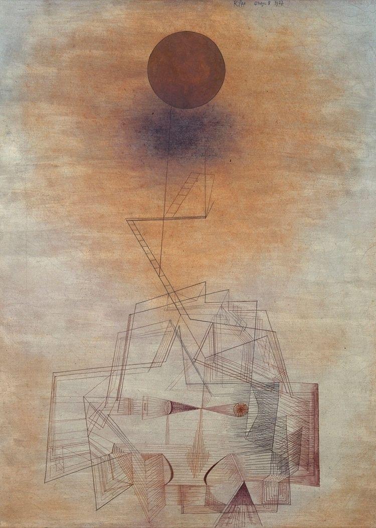 Bounds Intellect, 1927 - PaulKlee, - bauhaus-movement | ello