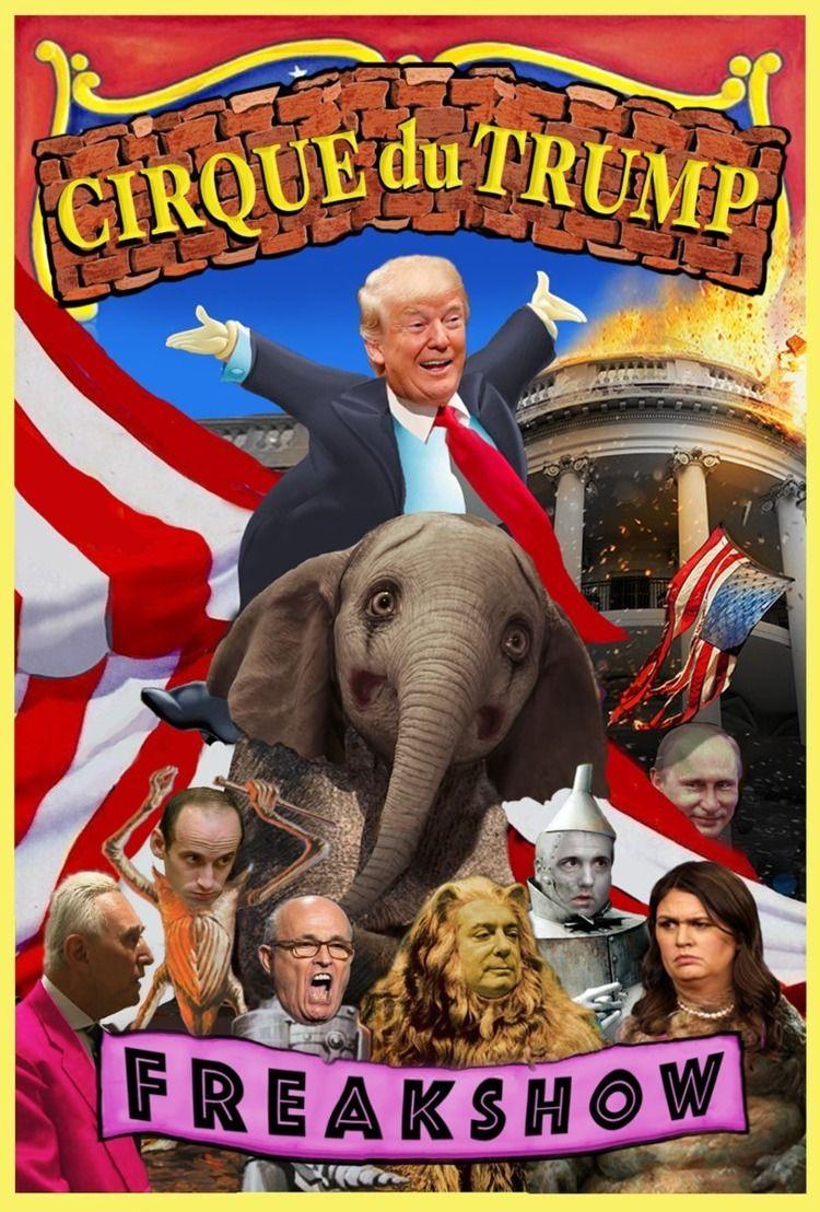 illustration, collage, Trump - hatun | ello