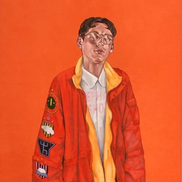 Portrait Craftsman TARO004 Oil  - damiencifelli | ello