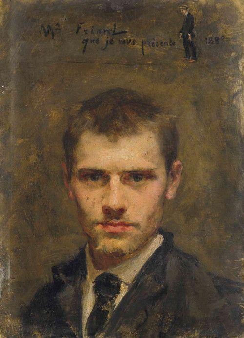 Emile Friant: Autoportrait, 188 - arthurboehm   ello