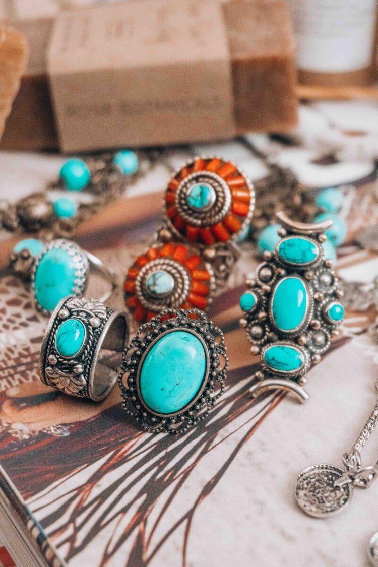 boho, southwestern, jewelry, rings - elloboho | ello