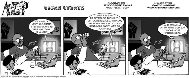 Super Frat: Oscar Update - webcomic - tonydigerolamo | ello