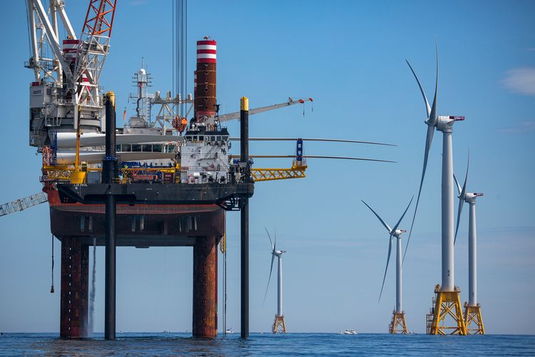 offshore, wind, energy, construction - cleanenergyphoto | ello