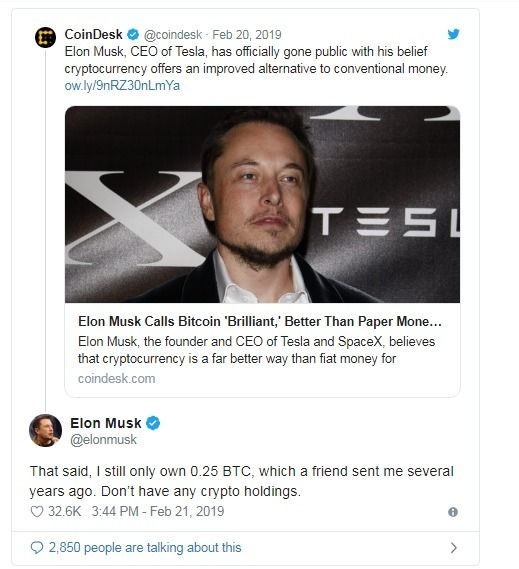 Richer Elon Musk, Bitcoin regar - alidervash | ello